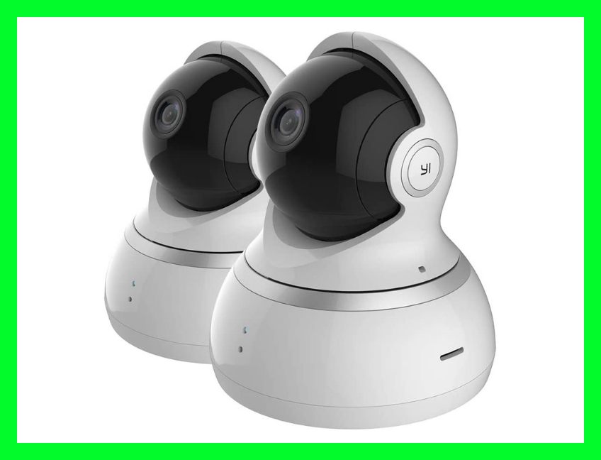 The YI Indoor Dome Security Camera keeps an eagle eye on things at hoome. (Photo: Amazon)
