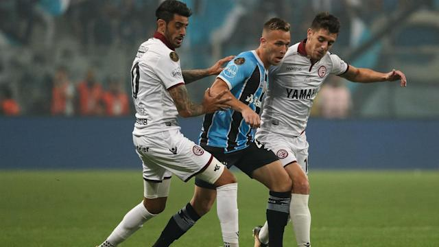 Remi Garde's side has added the attacking midfielder on a permanent move from Argentine club Lanus