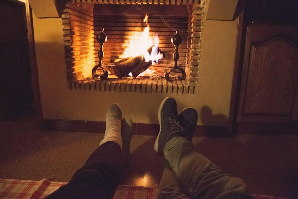 """<p>Fact: A pile of blankets and a roaring fireplace (or ahem, a YouTube fireplace video) pair really well with an audiobook. For an evening with your boo, I'm loving <em><a href=""""https://www.audible.com/pd/How-Chefs-Holiday-Audiobook/B07YYKJW55?qid=1597171618&sr=1-1&ref=a_search_c3_lProduct_1_1&pf_rd_p=e81b7c27-6880-467a-b5a7-13cef5d729fe&pf_rd_r=64FRXEZZD8XXN6FJ98P8"""" rel=""""nofollow noopener"""" target=""""_blank"""" data-ylk=""""slk:How Chefs Holiday"""" class=""""link rapid-noclick-resp"""">How Chefs Holiday</a>, Holiday Greetings from Sugar and Booze</em> (a music-filled holiday comedy starring Ana Gasteyer and Maya Rudolph), and Louisa May Alcott's classic tale <em><a href=""""https://www.audible.com/pd/Little-Women-Audiobook/B081B7JM9F?qid=1597173197&sr=1-2&ref=a_search_c3_lProduct_1_2&pf_rd_p=e81b7c27-6880-467a-b5a7-13cef5d729fe&pf_rd_r=PPVEZZ061E2YSVD9NDF7"""" rel=""""nofollow noopener"""" target=""""_blank"""" data-ylk=""""slk:Little Women"""" class=""""link rapid-noclick-resp"""">Little Women</a></em> performed by Laura Dern, all available on Audible.</p>"""