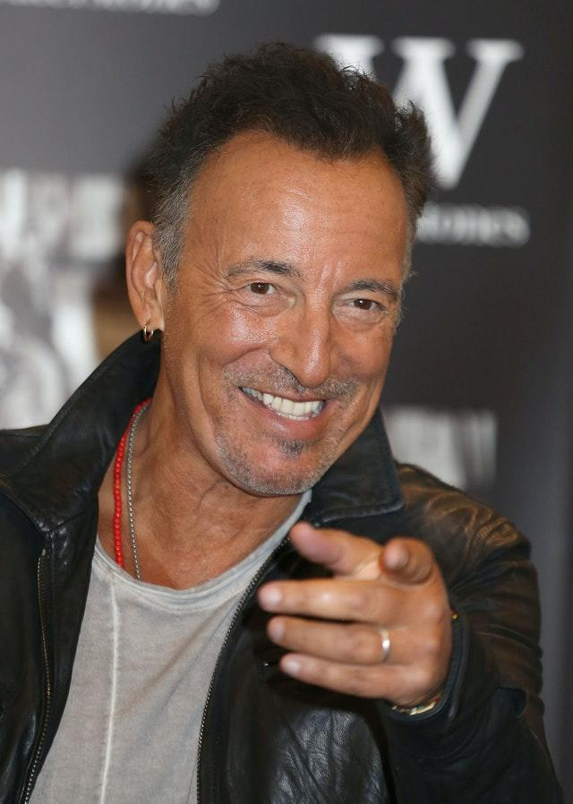 Bruce Springsteen book signing – London
