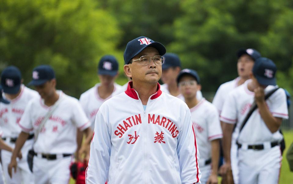 Liu Kai-chi starred as the school principal and baseball team coach in 2016 film Weeds on Fire. Photo: Handout
