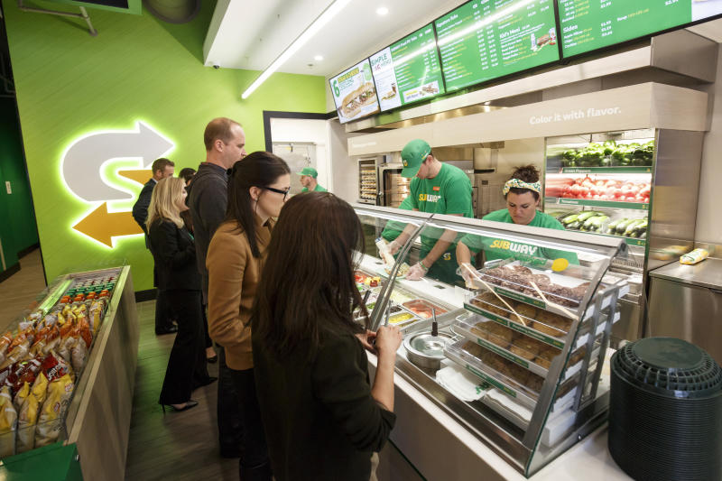 Subway looking to update stores' not-so-fresh look
