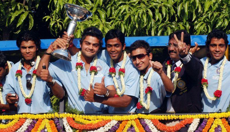 Virat Kohli led India to victory in the 2008 under-19 World Cup