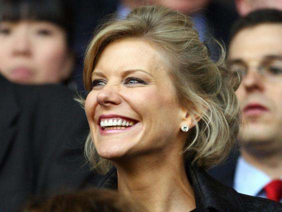 Amanda Staveley is fronting the takeover of Newcastle (AFP)