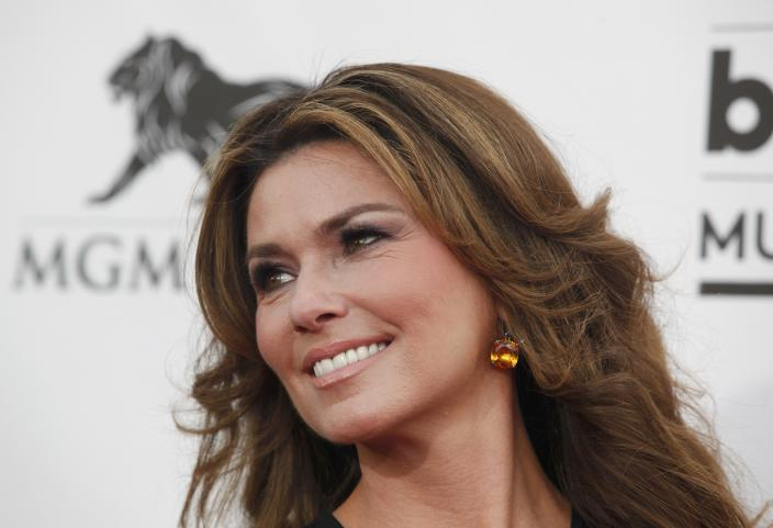 Shania Twain sent Brad Pitt a happy birthday message referencing her hit song from 1997. (Photo: REUTERS/L.E. Baskow)