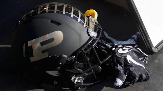It looked an awful lot like Purdue had converted on fourth down early in the fourth quarter, but the officials said no. The ruling had people scratching their heads.
