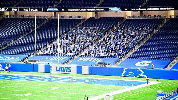 Lions cancel November ticket package, unsure when fans will return