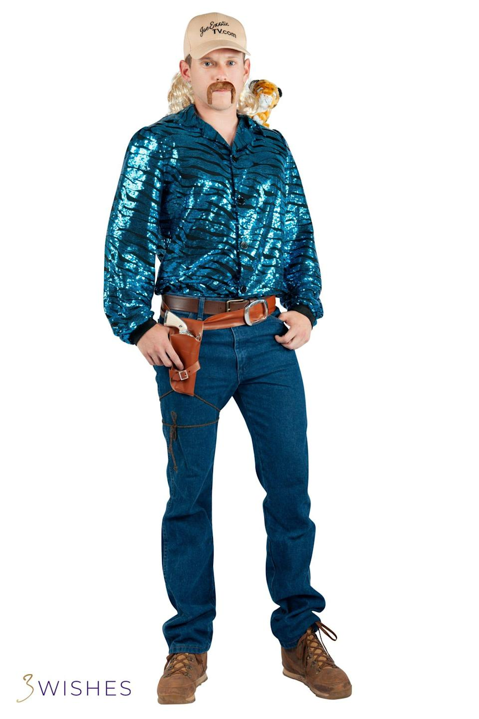 """The """"Joe Exotic Costume"""" from 3Wishes.com."""