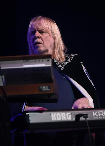 Yes keyboardist Rick Wakeman is disappointed the honor came too late for band co-founder Chris Squire