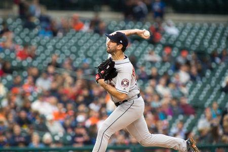 MLB roundup: Verlander wins in return to Detroit