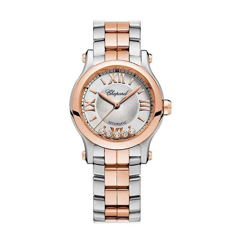 """<p><strong>Chopard</strong></p><p>1stdibs.com</p><p><strong>$15375.00</strong></p><p><a href=""""https://go.redirectingat.com?id=74968X1596630&url=https%3A%2F%2Fwww.1stdibs.com%2Fjewelry%2Fwatches%2Fwrist-watches%2Fchopard-happy-sport-automatic-ladies-watch-278573-6016%2Fid-j_8497312%2F&sref=https%3A%2F%2Fwww.townandcountrymag.com%2Fstyle%2Fcollectibles%2Fg34288980%2Fwhat-to-buy-1stdibs-fall-2020-sale%2F"""" rel=""""nofollow noopener"""" target=""""_blank"""" data-ylk=""""slk:Shop Now"""" class=""""link rapid-noclick-resp"""">Shop Now</a></p><p>Luxury watches are great to buy vintage, whether it is to score a limited-edition run or simply invest in a quality timepiece. </p>"""