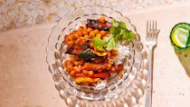 """<a href=""""https://www.bonappetit.com/recipe/saucy-grilled-summer-squash-with-chickpeas?mbid=synd_yahoo_rss"""" rel=""""nofollow noopener"""" target=""""_blank"""" data-ylk=""""slk:See recipe."""" class=""""link rapid-noclick-resp"""">See recipe.</a>"""