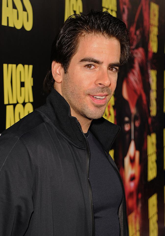 "<a href=""http://movies.yahoo.com/movie/contributor/1804143104"">Eli Roth</a> at the Los Angeles premiere of <a href=""http://movies.yahoo.com/movie/1810063108/info"">Kick-Ass</a> - 04/13/2010"