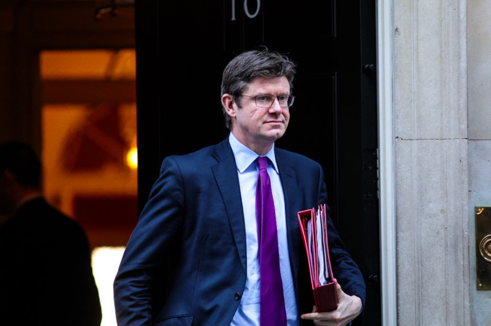 <em>Business Secretary Greg Clark agreed that firms will need to make decisions about whether to send goods to Japan by sea in the 'next couple of weeks' (Getty)</em>