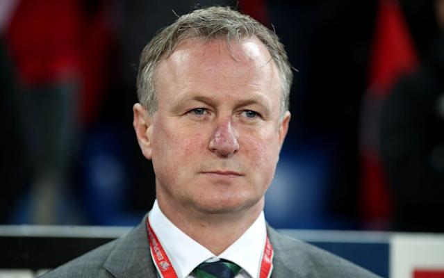 Michael O'Neill has been in charge of Norther Ireland since 2011  - PA