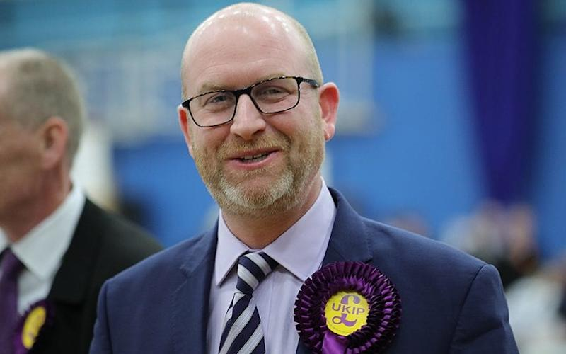 Paul Nuttall - Credit: Christopher Furlong/Getty