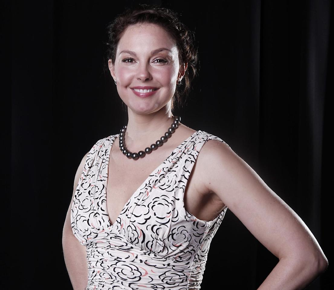 FILE - In this March 13, 2012 file photo, actress Ashley Judd poses for a portrait in New York. Democratic leaders in Tennessee are sending actress Ashley Judd as a delegate to the Democratic National Convention in September. Judd will join delegates from all 50 states at the convention to discuss the party's platform and formally nominate President Barack Obama as the party's candidate. The convention will be held in Charlotte during the first week of September. (AP Photo/Carlo Allegri, file)