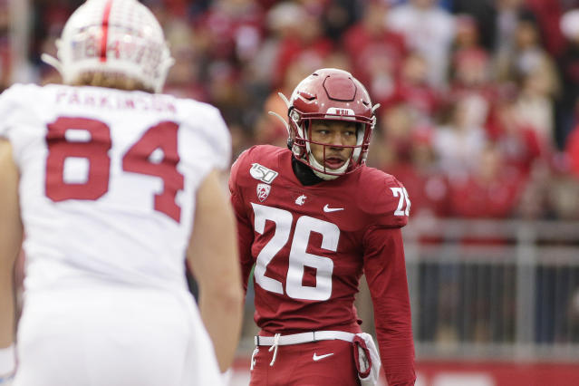 Washington State safety Bryce Beekman was the team's fifth-leading tackler in 2019. (AP Photo/Young Kwak)