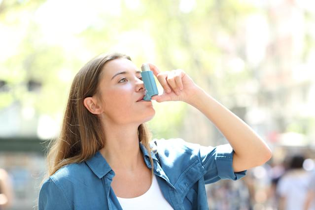 Asthma patients have reported improvements to their symptoms. (Getty Images)