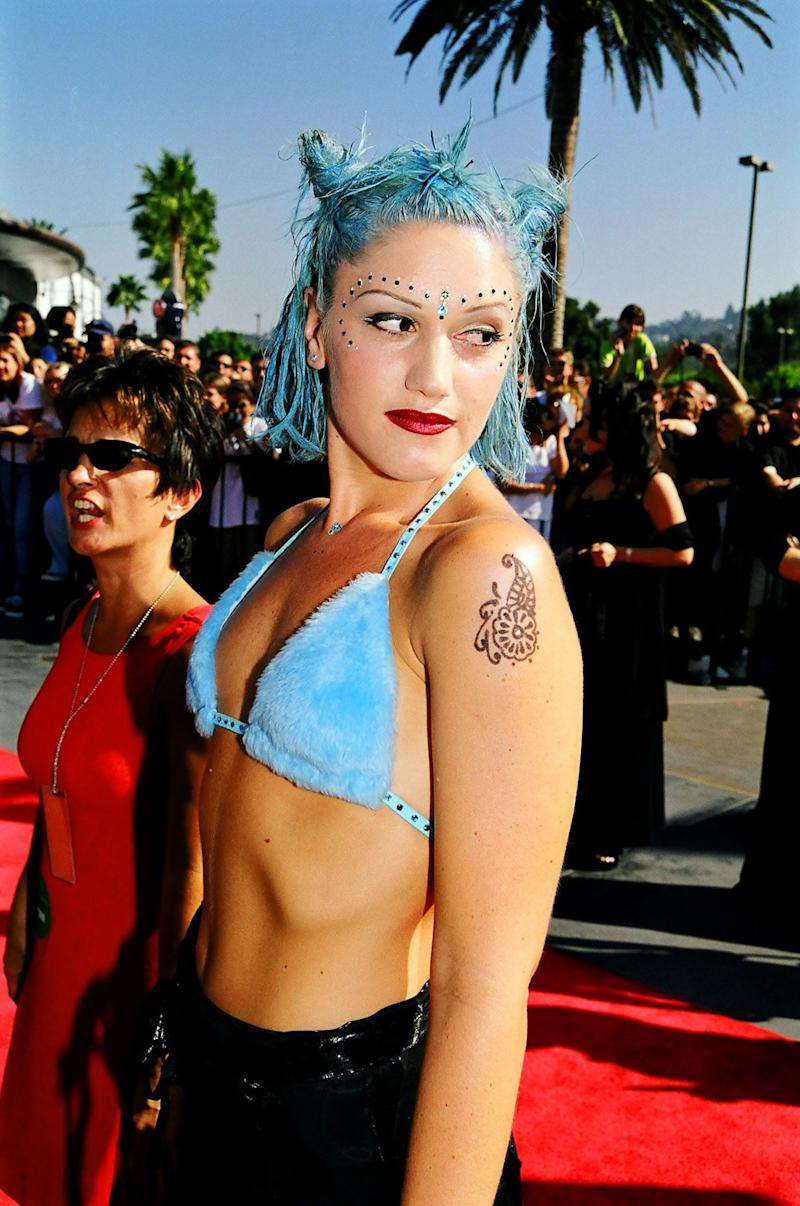 At the 1998 MTV Video Music Awards.
