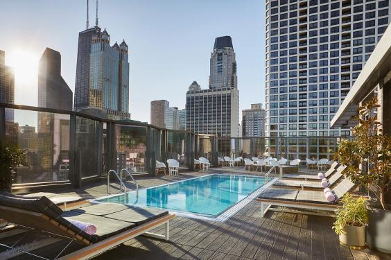 The rooftop pool at The Viceroy (Christian Horan)