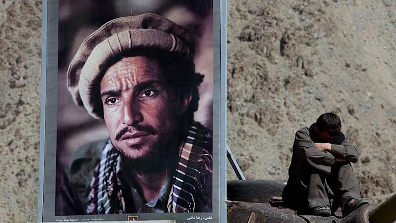 Afghani Warrior Ahmad Shah Massoud Becomes a National Icon for Afghanistan Government