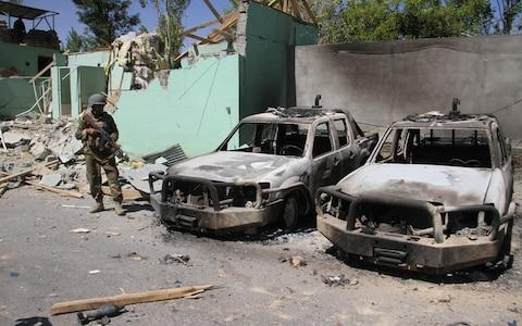 The Taliban have staged attacks on Ghazni in the past - Credit: REUTERS/Mustafa Andaleb