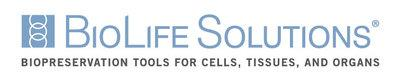 Biolife Solutions Inc. logo. (PRNewsFoto/BIOLIFE SOLUTIONS INC.)