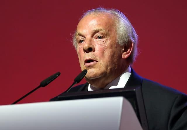 PFA chief executive Gordon Taylor has been criticised in the media over a wide range of issues (Steven Paston/PA)