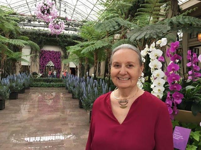 J. Denise Kulick visits Longwood Gardens near Philadelphia in early March of 2020 before she began quarantining alone in her home in Pennsylvania.