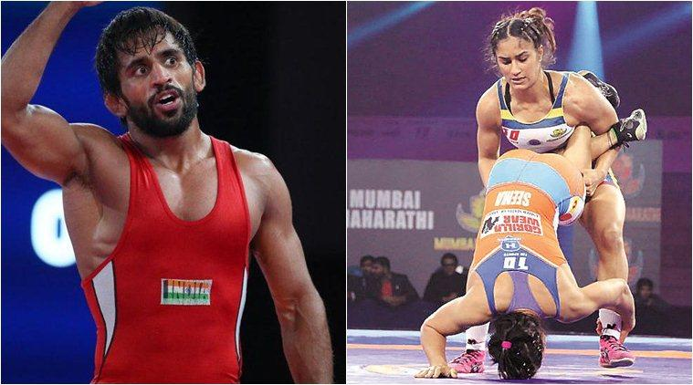 Pro Wrestling League, PWL, Bajrang Punia, Vinesh phogat, Ravi Kumar wrestling, Pinki wrestling, Delhi Sultans, wrestling news, sports news, indian express