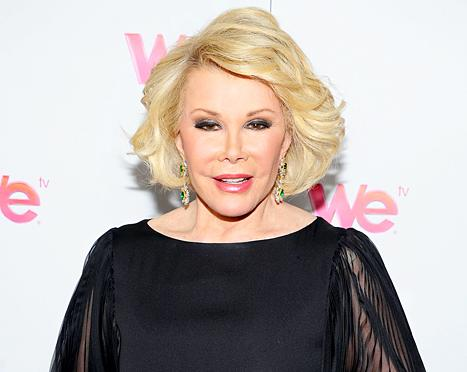 "Joan Rivers Wanted Paparazzi, Meryl Streep at Her ""Showbiz Affair"" Funeral"