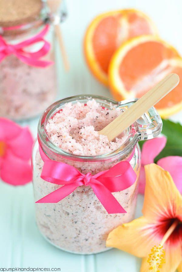 "<p>Treat mom to this sweet-smelling citrus and passion fruit spa treatment. She'll instantly feel like she's on a mini tropical vacation. </p><p><em><a href=""https://apumpkinandaprincess.com/passion-tea-sugar-scrub/"" rel=""nofollow noopener"" target=""_blank"" data-ylk=""slk:Get the tutorial at A Pumpkin & A Princess »"" class=""link rapid-noclick-resp"">Get the tutorial at A Pumpkin & A Princess »</a></em> </p>"