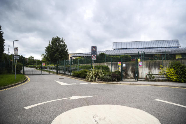 The school has been closed for a deep clean (Picture: SWNS)