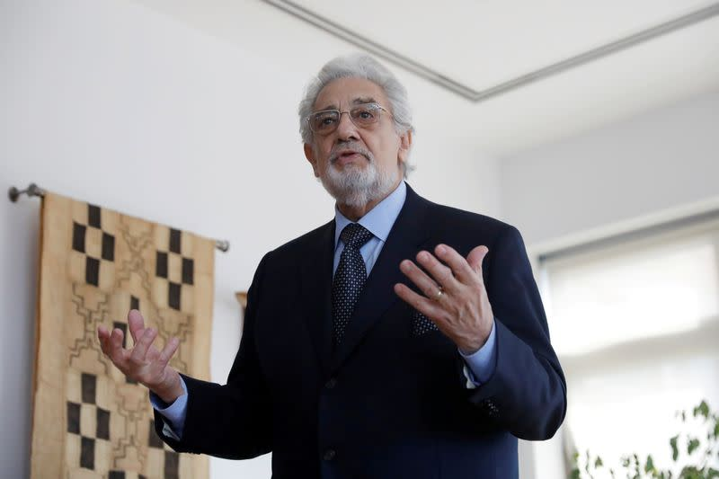 Spain cancels Placido Domingo performances over sexual misconduct allegations
