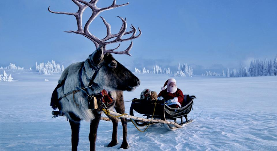 Santa will begin his journey in the North Pole (Getty)