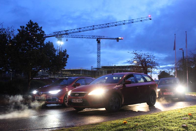 Traffic near the Cambridge Science Park, with congestion a major problem in the city. Photo: Yahoo Finance UK / Tom Belger