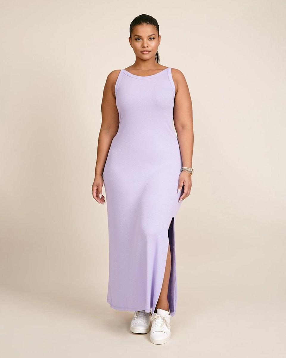 <p>This <span>LNA Candi Rib Dress</span> ($138) comes in the prettiest purple hue.</p>
