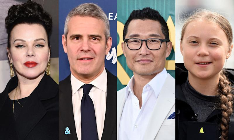 Debi Mazar, Andy Cohen, Daniel Dae Kim and Greta Thunberg have been affected by the coronavirus. (Photo: Getty Images)