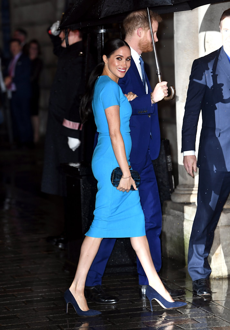 Meghan, Duchess of Sussex attends The Endeavour Fund Awards at Mansion House on March 05, 2020 in London, England. (Photo by Chris Jackson/Getty Images).