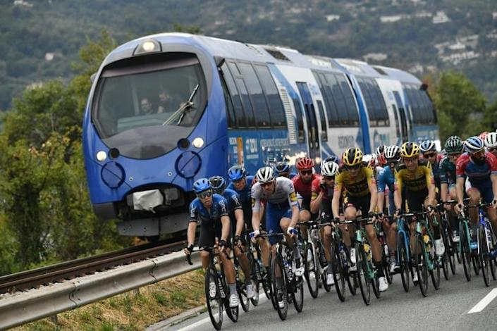 The Tour de France cycling race finally set off from Nice, two months late due to the pandemic