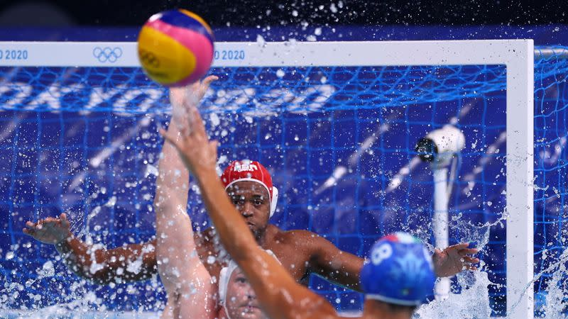 Water Polo - Men - Group A - South Africa v Italy
