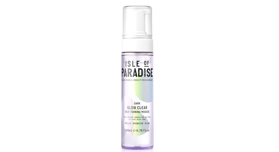 Isle Of Paradise Glow Clear Self Tanning Mousse