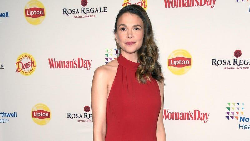 Sutton Foster at the Woman's Day 17th Annual Red Dress Awards.