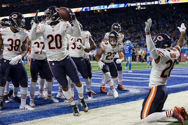 Kyle Fuller and the Bears defense alluded to the '85 Bears with their play and their celebrations on Thursday. (Getty)