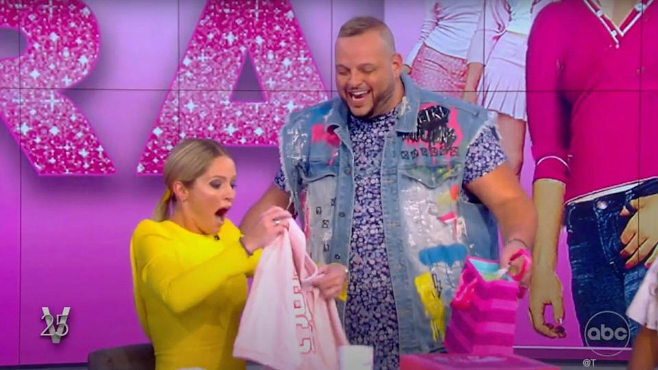 Sara Haines Gets Mean Girls-Themed Birthday Surprise on The View Featuring Star Daniel Franzese