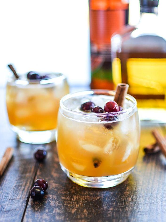 """<p>It's like pumpkin pie and apple pie with alcohol. What more could you ask for?</p><p>Get the recipe from <a href=""""http://www.cookingandbeer.com/2014/10/apple-pumpkin-beer-cocktails/"""" rel=""""nofollow noopener"""" target=""""_blank"""" data-ylk=""""slk:Cooking and Beer"""" class=""""link rapid-noclick-resp"""">Cooking and Beer</a>.</p>"""
