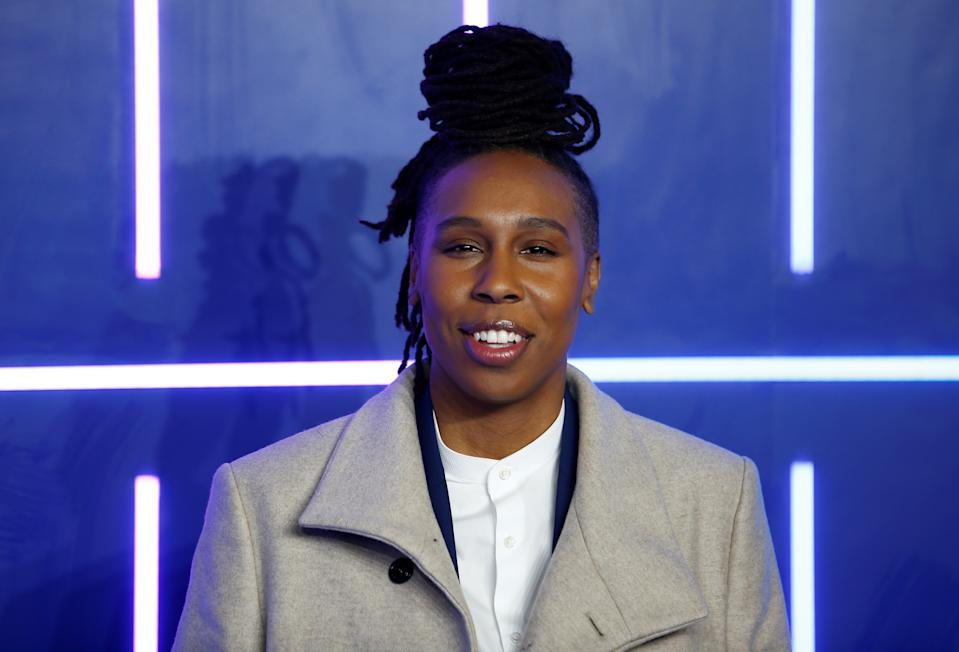 """Lena Waithe attends the premiere of """"Ready Player One"""" on March 19, 2018, in London. (Photo: REUTERS/Henry Nicholls)"""