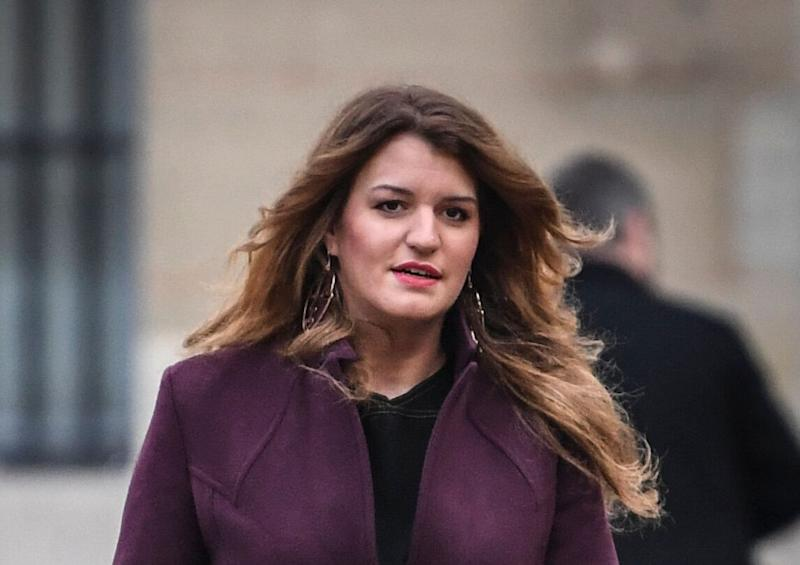 Marlène Schiappa, ici arrivant à Matignon à Paris le 25 novembre 2019. (Photo: STEPHANE DE SAKUTIN via Getty Images)