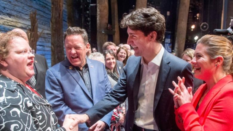 Trudeau government spends $30K on Come From Away tickets